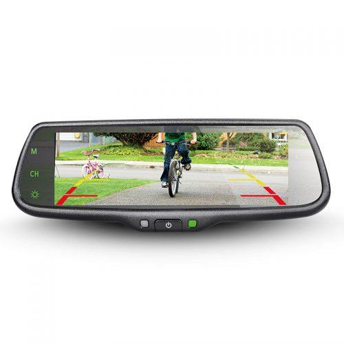 Parkmate mirror screen