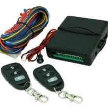 Mongoose keyless entry system