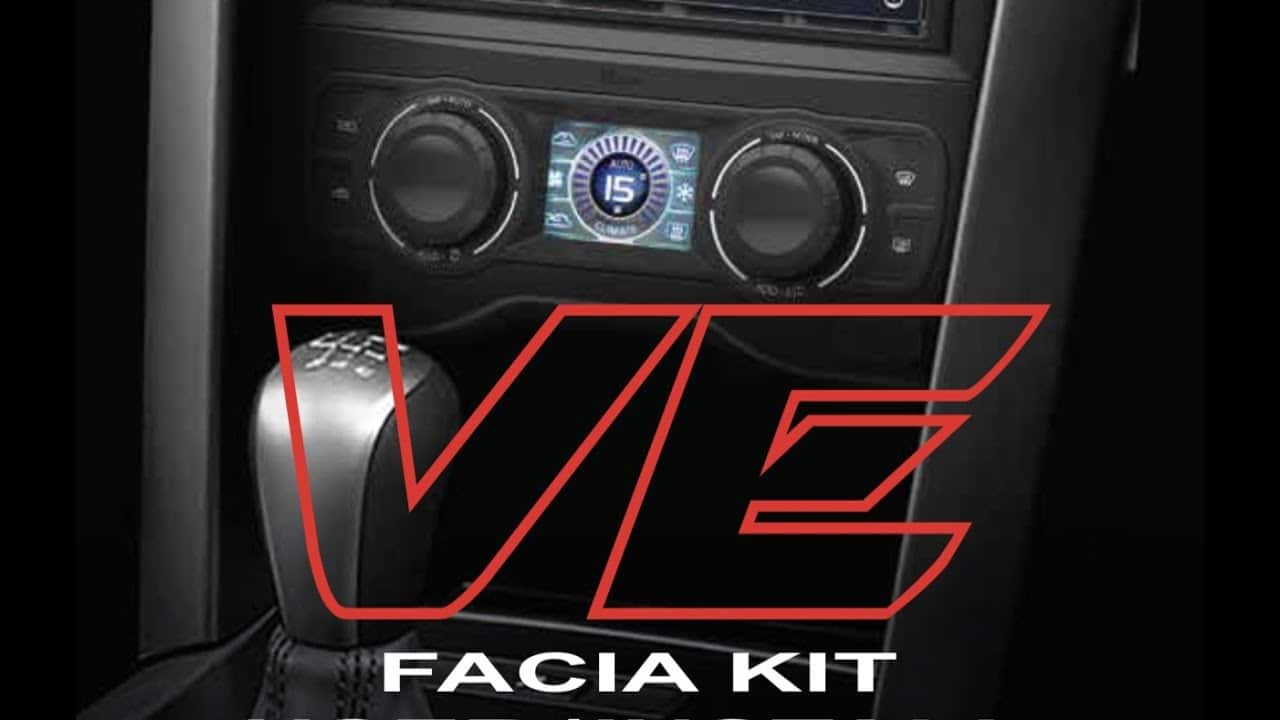 VE Commodore S1 Install kit